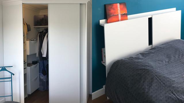 Un Dressing Sur Mesure Pour Moins De 230 Et Un Petit Hack Ikea
